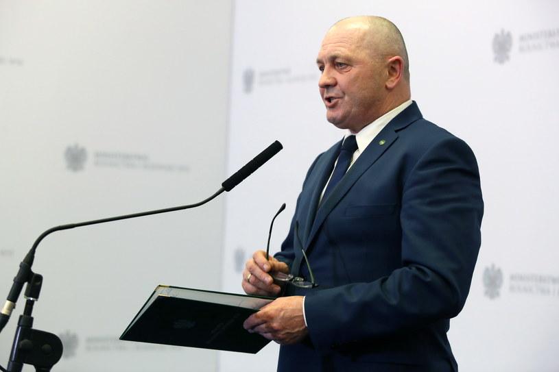 Minister Marek Sawicki /Tomasz Gzell /PAP