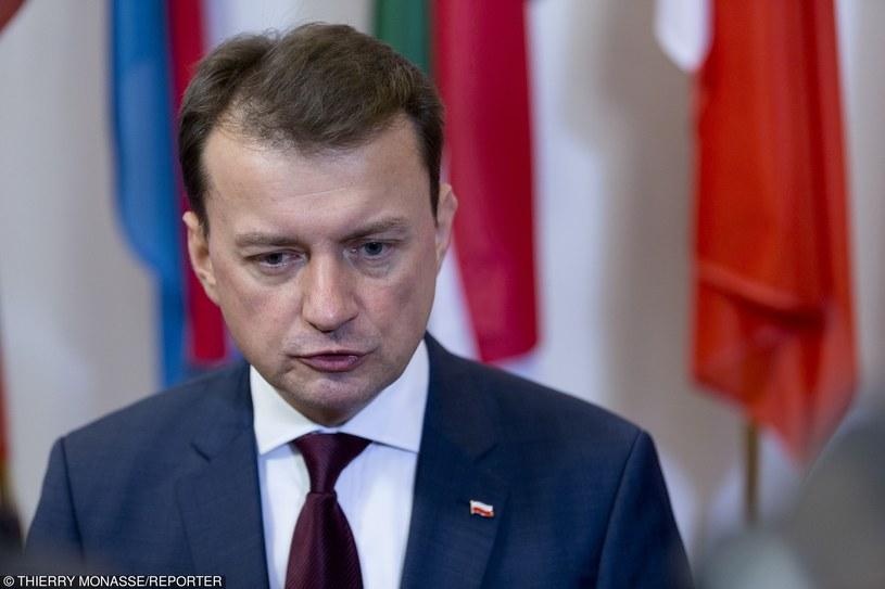 Minister Mariusz Błaszczak /Thierry Monasse/REPORTER /East News