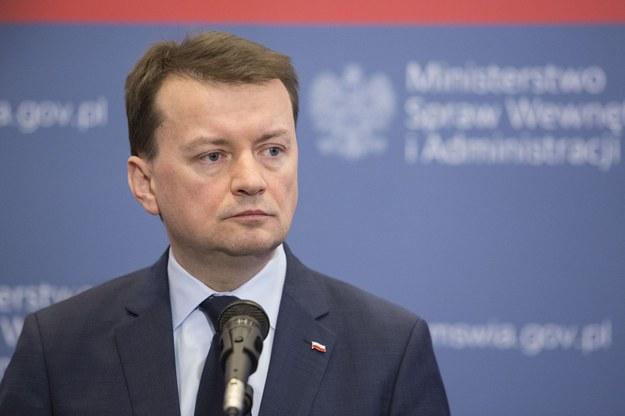 Minister Mariusz Błaszczak /Andrzej Hulimka  /Reporter