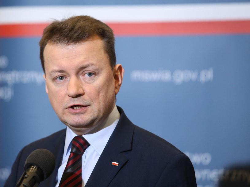 Minister Mariusz Błaszczak /Rafał Guz /PAP