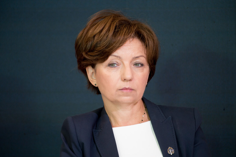 Minister Marlena Maląg /Wojciech Strozyk/ /Reporter