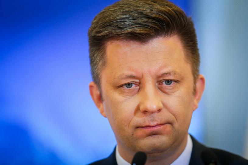 Minister Michał Dworczyk, szef KPRM /Fot Tomasz Jastrzebowski /Reporter
