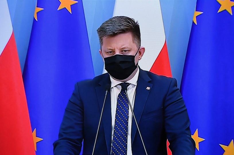 Minister Michał Dworczyk /Piotr Nowak /PAP
