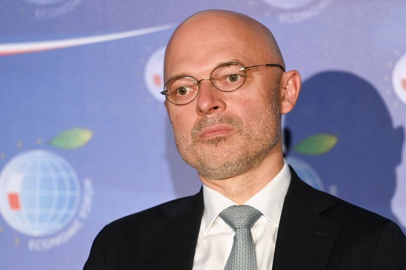 Minister Michał Kurtyka. /Artur BARBAROWSKI/East News /East News
