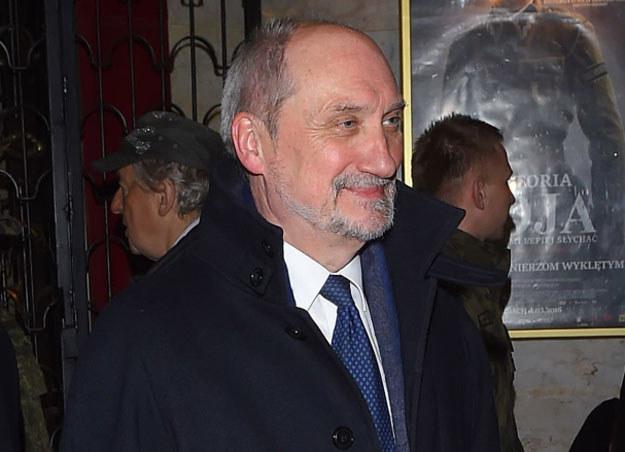 Minister obrony Antoni Macierewicz /Stach Leszczyński /PAP