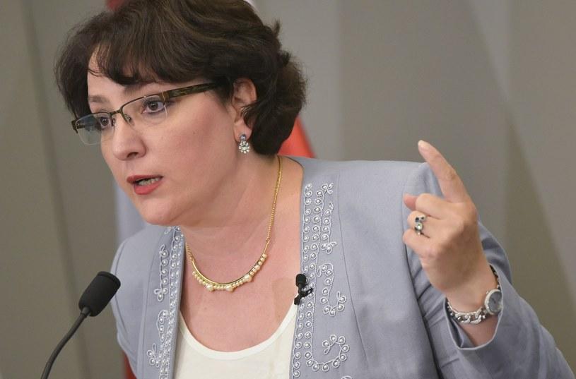 Minister obrony Gruzji Tina Chidaszeli /MANDEL NGAN /AFP
