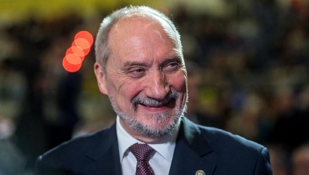 Minister obrony narodowej Antoni Macierewicz /Tytus Żmijewski /PAP