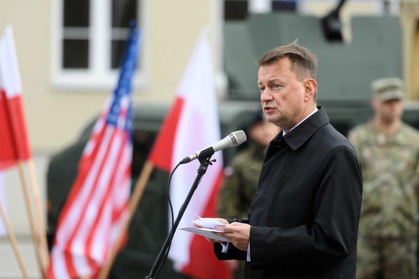 Minister obrony narodowej Mariusz Błaszczak /Jakub Kaczmarczyk /PAP /PAP
