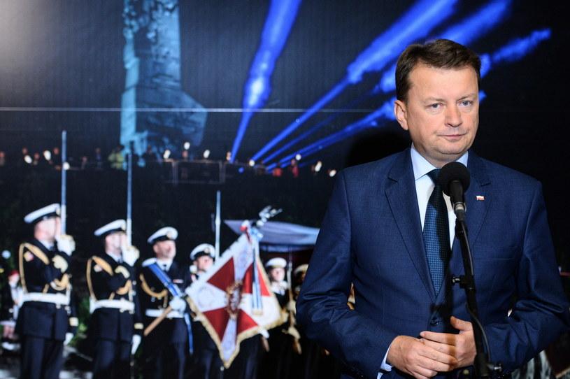 Minister obrony narodowej Mariusz Błaszczak /Jacek Turczyk /PAP