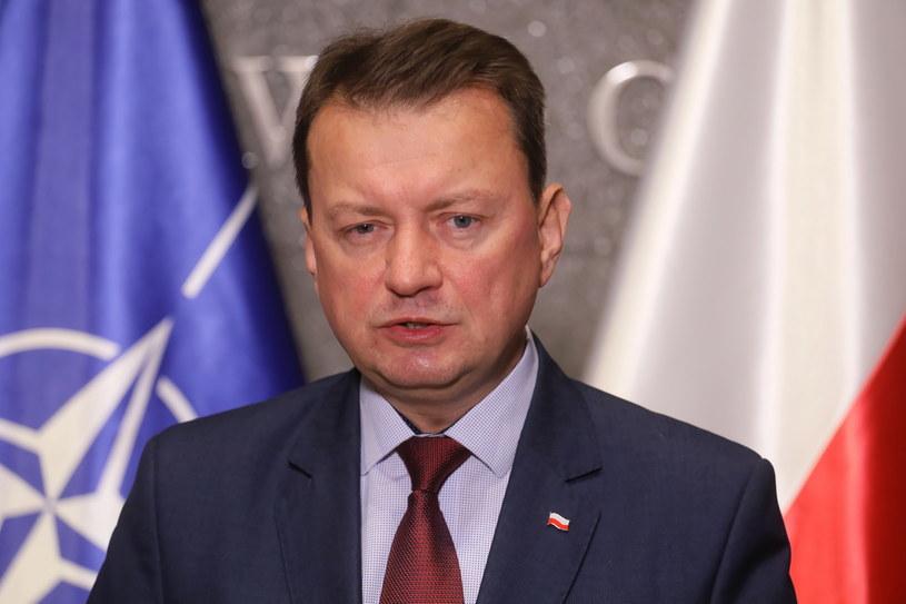 Minister obrony narodowej Mariusz Błaszczak /Paweł Supernak /PAP