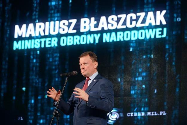 Minister obrony narodowej Mariusz Błaszczak /PAP