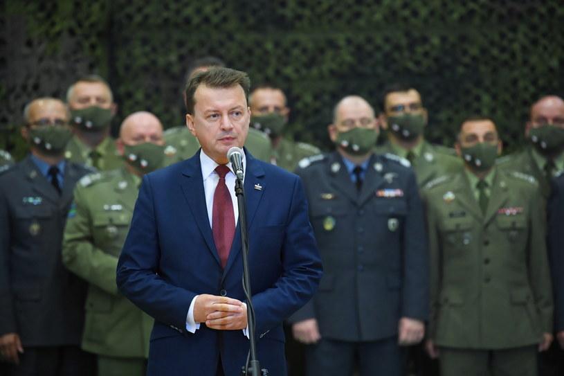 Minister obrony narodowej Mariusz Błaszczak / Radek Pietruszka   /PAP