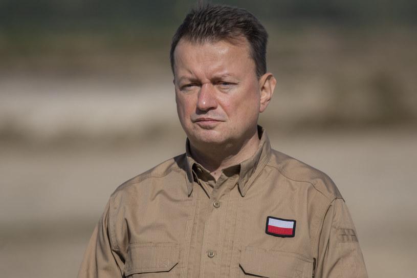 Minister obrony narodowej Mariusz Błaszczak /Grzegorz Bukala /Reporter