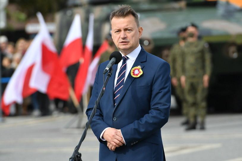 Minister obrony narodowej Mariusz Błaszczak /Wojtek Jargiło /PAP