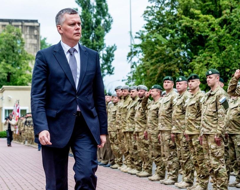 Minister Obrony Narodowej Tomasz Siemoniak /Piotr Bławicki /East News