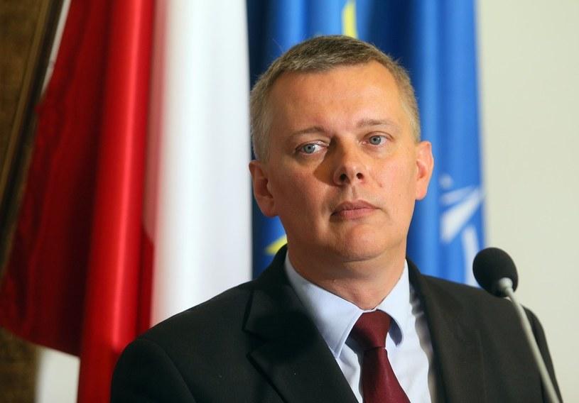 Minister obrony narodowej Tomasz Siemoniak /Mariusz Grzelak /Reporter