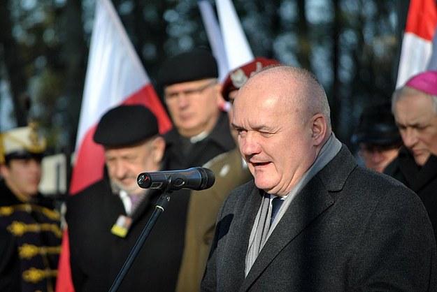 Minister obrony narodowej Węgier Csaba Hende /Małgorzata Żyłko /INTERIA.PL
