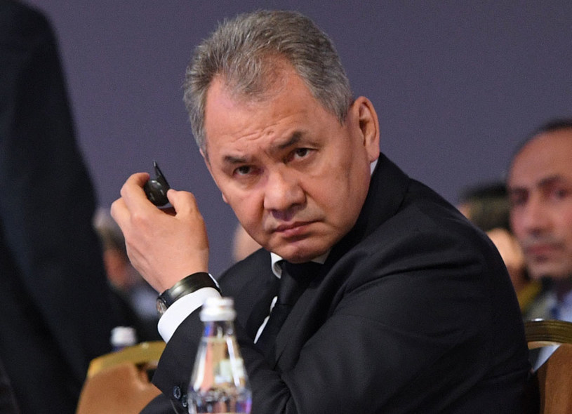 Minister obrony Rosji Siergiej Szojgu /Natalia Kolesnikova /AFP