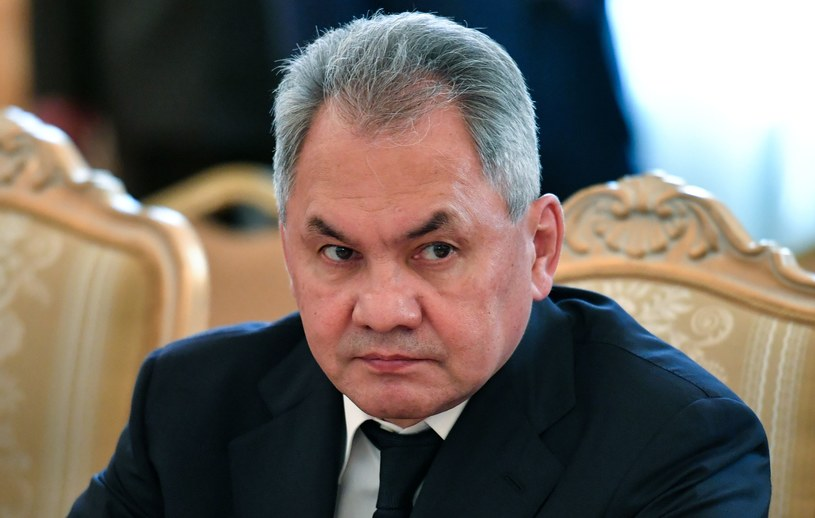 Minister obrony Rosji Siergiej Szojgu /Yuri Kadobnov /AFP