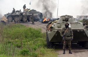 Minister obrony: Terroryści w Słowiańsku proszą o negocjacje