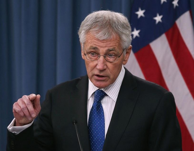 Minister obrony USA Chuck Hagel /AFP