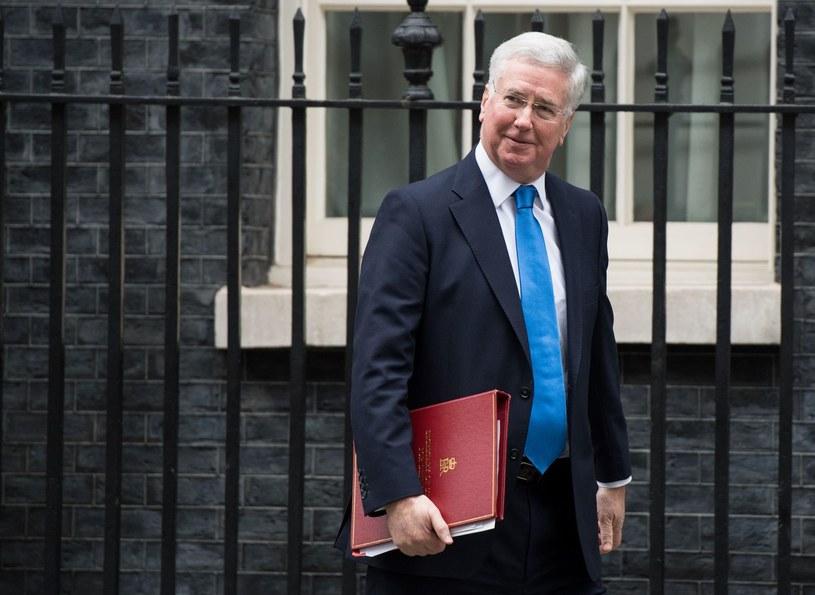 Minister obrony Wielkiej Brytanii Michael Fallon /AFP