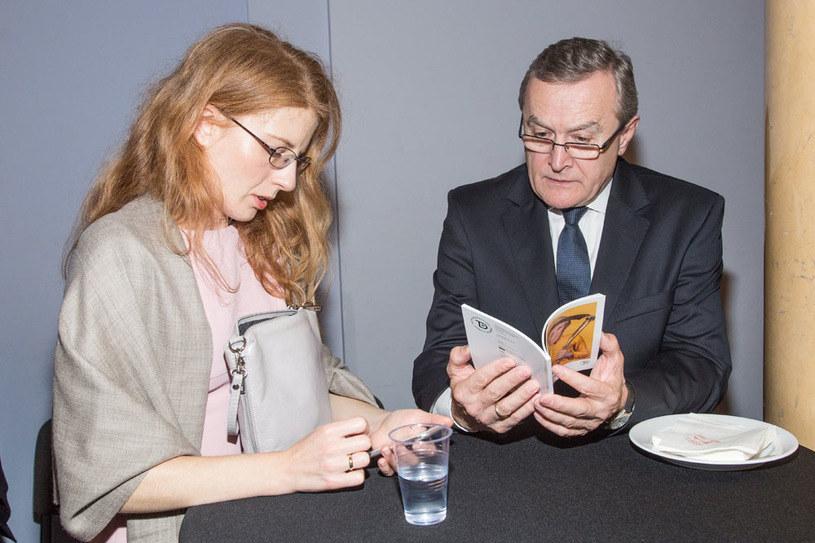 Minister Piotr Gliński z żoną Renatą Koźlicką-Glińską /Marcin Dławichowski /Agencja FORUM