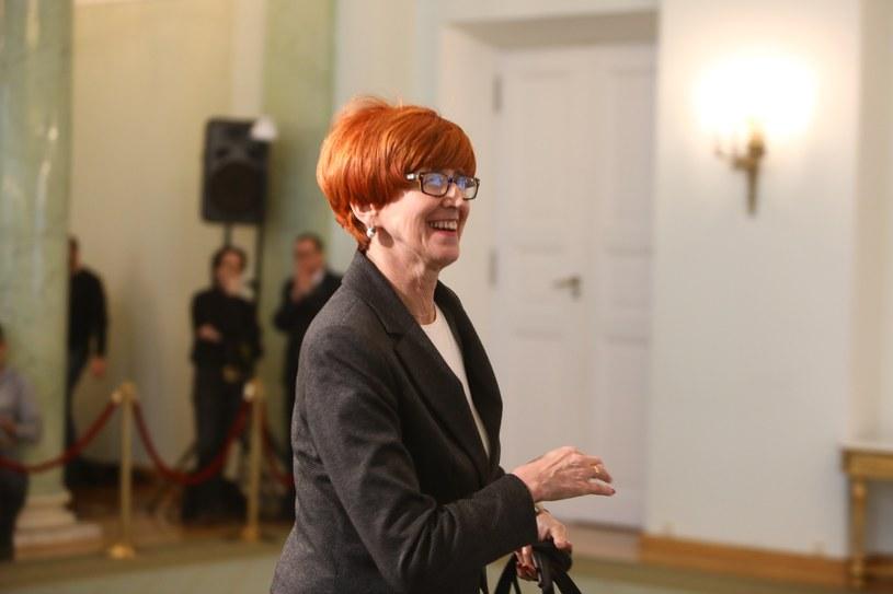 Minister pracy Elżbieta Rafalska /Stanisław Kowalczuk /East News
