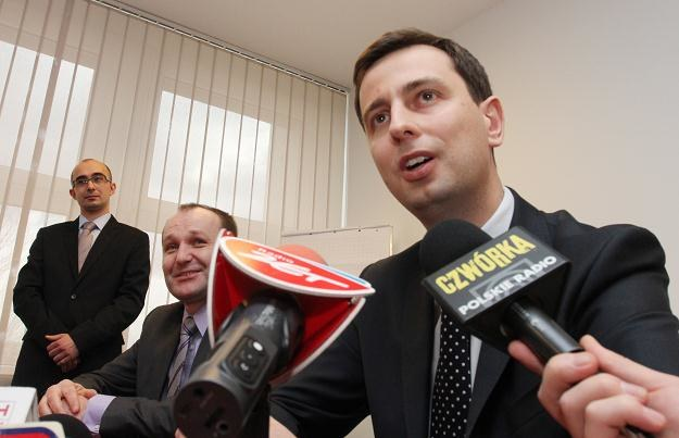 Minister pracy i polityki społecznej Władysław Kosiniak-Kamysz (P) /PAP