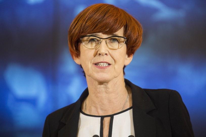 Minister pracy, rodziny i polityki społecznej Elżbieta Rafalska /Andrzej Hulimka/Reporter /Reporter