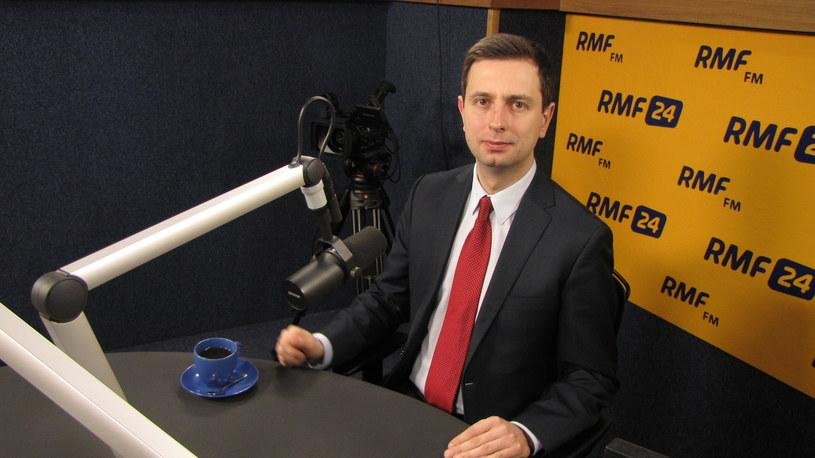Minister pracy Władysław Kosiniak-Kamysz /Kamil Młodawski /RMF FM