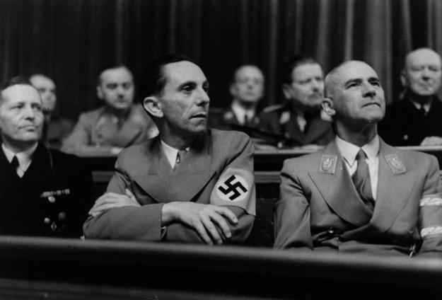 Minister propagandy Trzeciej Rzeszy Joseph Goebbels. /akg-images /East News