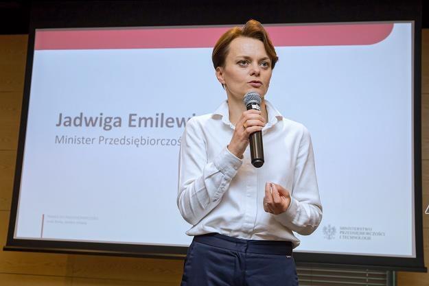 Minister przedsiębiorczości i technologii Jadwiga Emilewicz w Lublinie /PAP