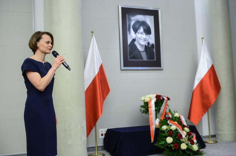 Minister przedsiębiorczości i technologii Jadwiga Emilewicz / Jakub Kamiński    /PAP
