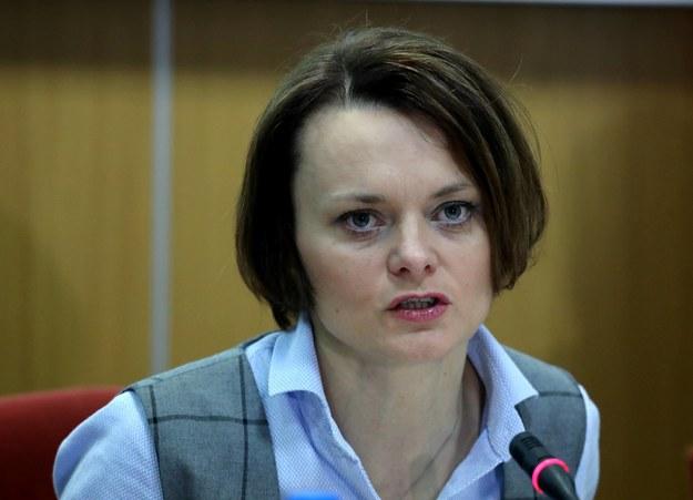 Minister przedsiębiorczości i technologii Jadwiga Emilewicz /Tomasz Gzell   /PAP