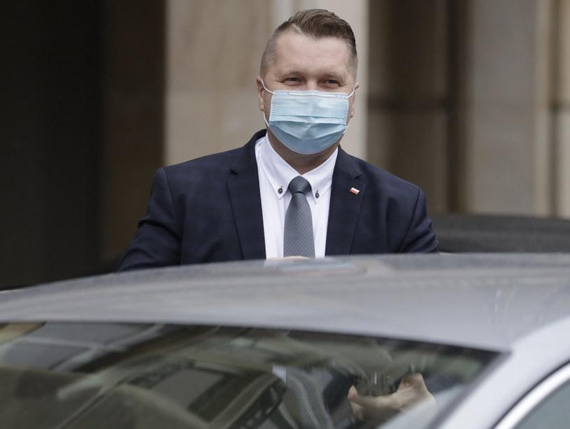Minister Przemysław Czarnek /AP/Associated Press /East News