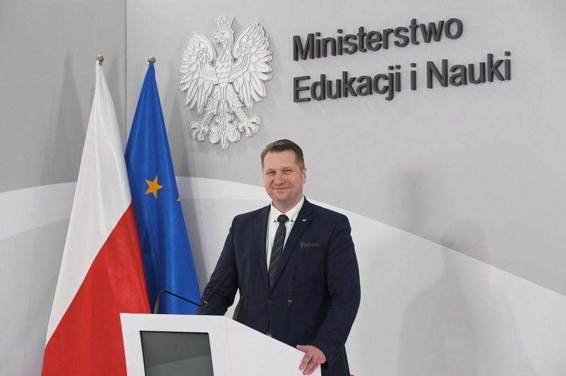 Minister Przemysław Czarnek /Mateusz Marek /PAP