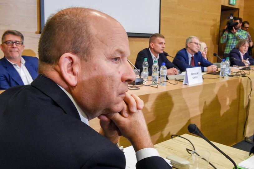 Minister Radziwiłł podczas posiedzenia sejmowej komisji zdrowia /Jacek Domiński /Reporter
