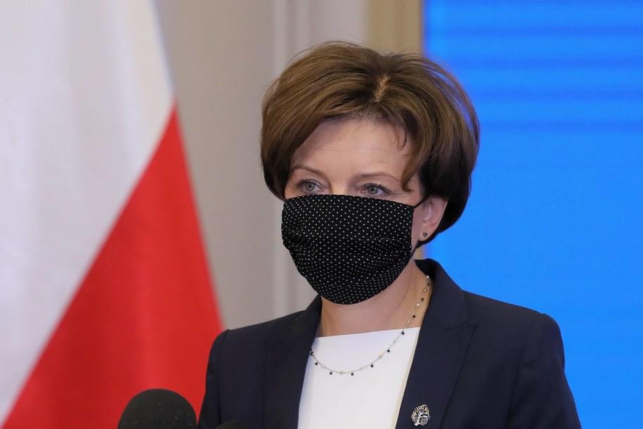 Minister rodziny i polityki społecznej Marlena Maląg /Paweł Supernak /PAP