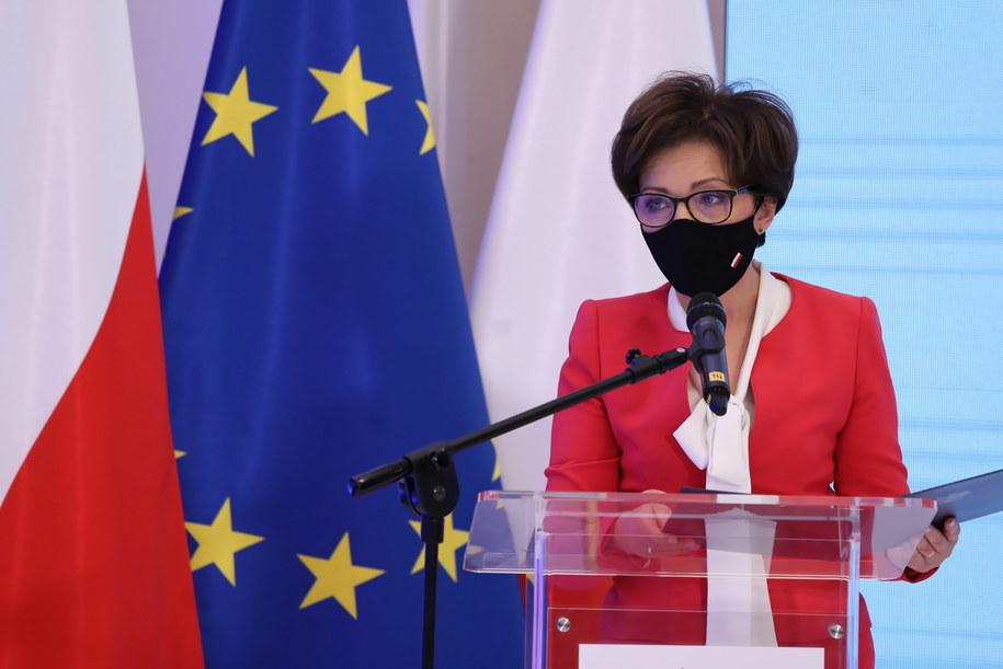 Minister rodziny i polityki społecznej Marlena Maląg / Tomasz Gzell    /PAP