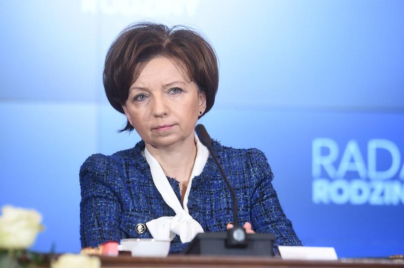 Minister rodziny Marlena Maląg /Zbyszek Kaczmarek/REPORTER /Reporter