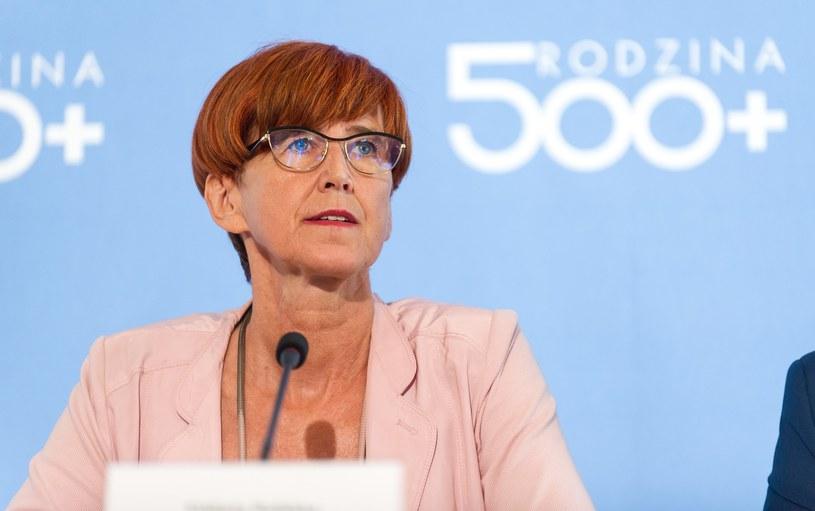 Minister rodziny, pracy i polityki społecznej Elżbieta Rafalska /Bartosz Krupa /East News