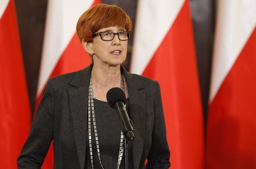 Minister rodziny, pracy i polityki społecznej Elżbieta Rafalska /Stefan Maszewski /Reporter