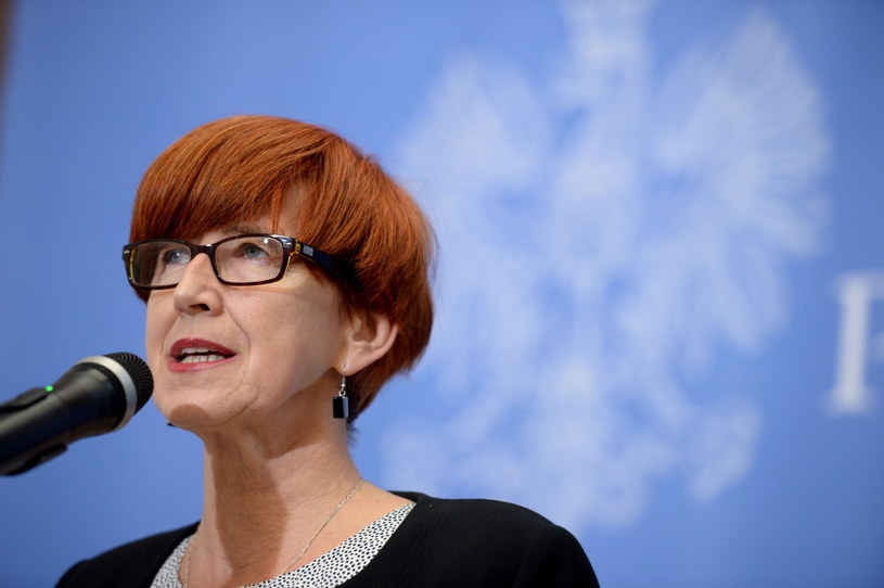 Minister rodziny, pracy i polityki społecznej Elżbieta Rafalska /Jacek Turczyk /PAP