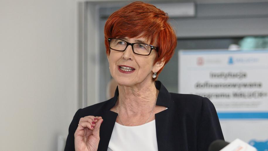 Minister rodziny, pracy i polityki społecznej Elżbieta Rafalska / Lech Muszyński    /PAP