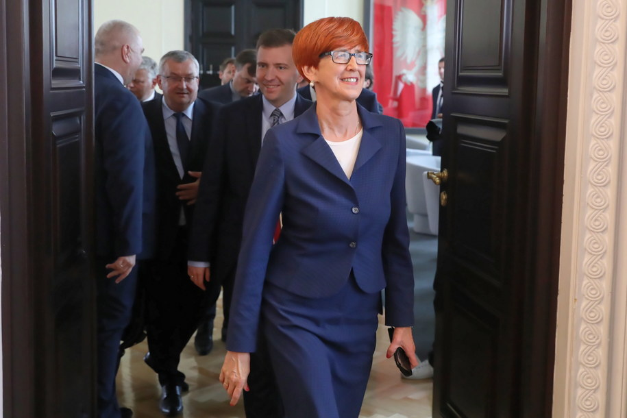 Minister rodziny, pracy i polityki społecznej Elżbieta Rafalska /Tomasz Gzell   /PAP