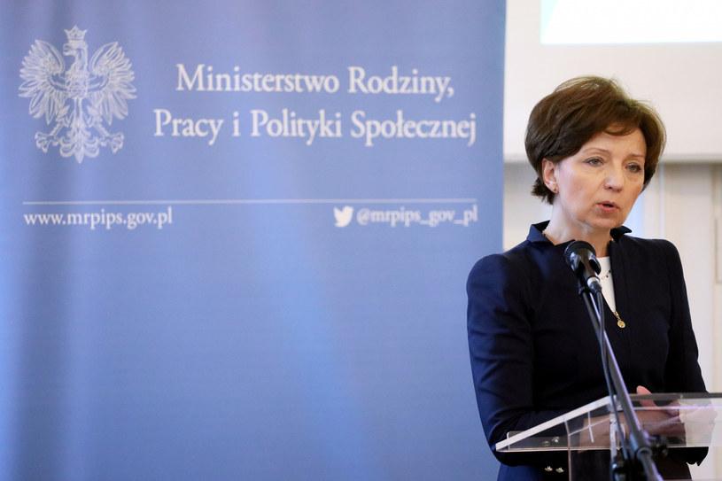 Minister rodziny, pracy i polityki społecznej Marlena Maląg /Jakub Kaminski/East News /East News
