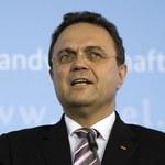 Minister rolnictwa Hans-Peter Friedrich podał się do dymisji