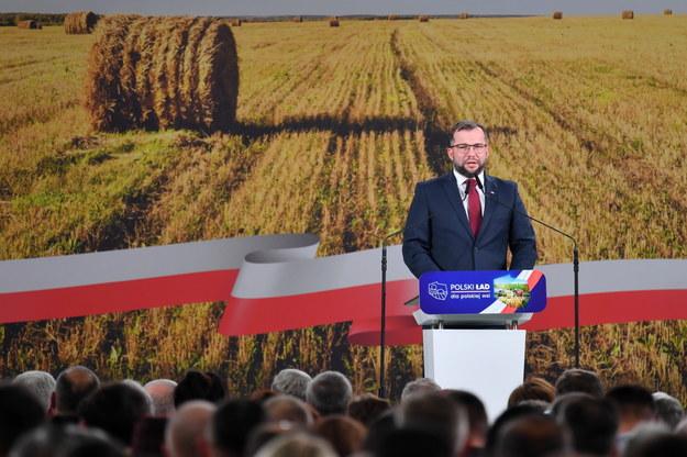 Minister rolnictwa i rozwoju wsi Grzegorz Puda /Piotr Polak /PAP