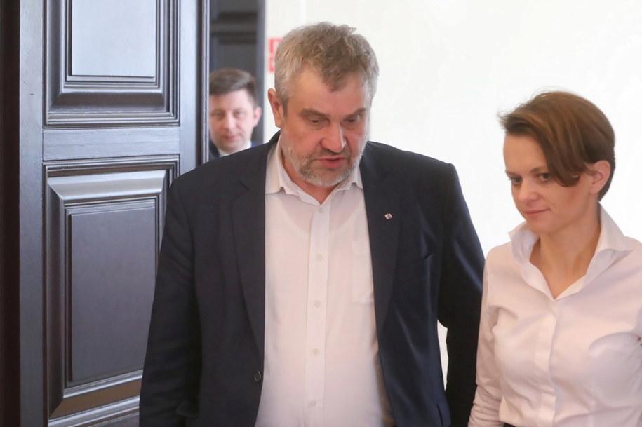 Minister rolnictwa i rozwoju wsi Jan Krzysztof Ardanowski i minister rozwoju Jadwiga Emilewicz /Wojciech Olkuśnik /PAP